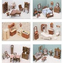 Greenleaf Doll Casas 6 Habitación De Muebles (requiere Monta