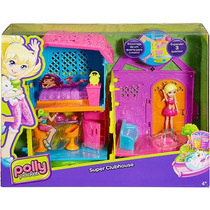 Casa Da Polly Pocket Super Club House E Acessórios - Mattel