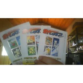 Pokémon Selos Para Colecionador 16 Cartelas