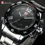 Reloj Shark 3d Doble Mov Unico Water Resist Fecha V. Func
