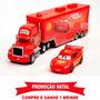 Relâmpago Mcqueen 95 - Kit Caminhão Mack + Carro Mcqueen