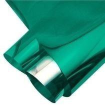 Pelicula Insulfilm Bobina Espelhada Verde G20 0,75x15mts 20%