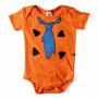 Body Divertido Fred Flintstone Fantasia Bebê