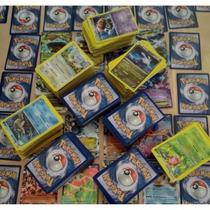 Lote Cartas Pokémon! 1 Ex + 1 Mega Ex + 50 Cartas + Booster!