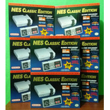 Nintendo Mini Nes Classic Edition Sellado