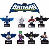 Kit Batman Coringa Bane 8 Peças Lego Comptível Dc Comics