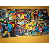 Superman,el Hombre De Acero/12 Tomos/envio Gratis.