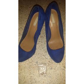 Zapatos Azul Altos / Tacon / Plataforma Bershka
