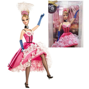 Boneca Barbie Francesa França Doll Of The World Aniv 50 Anos