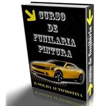 Curso Funilaria Martelinho De Ouro Carros E Motos 8 Dvds