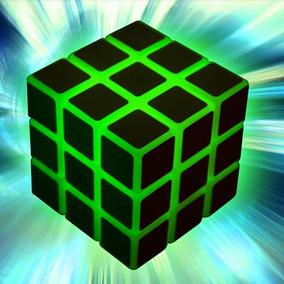 Cubo Tipo Rubik Brilla En La Oscuridad 3x3 Alta Competencia