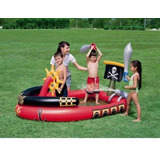 Piscina Inflable Barco Pirata (190x140x96 Cm)
