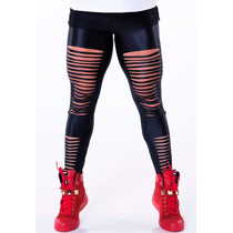 Calca Legging Lipsy Fitness Lipsoul Girls Panicat Original
