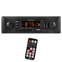 Toca Radio Som Carro Estilo Retro Powerpack 2320 C/ Controle