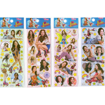 20 Planchas De Stickers Soy Luna Monster High Violeta