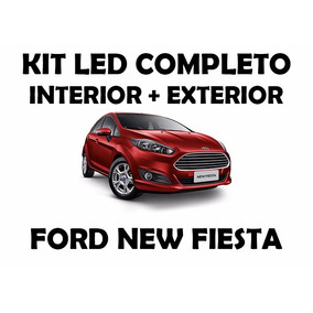 Kit Led Branco Completo P/ Ford New Fiesta (personalizável)