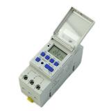 Timer Temporizador Digital Riel Din 220 Volts 10 Amp