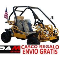 Go Kart Cuatrimoto Buggy Arenero 110cc Automatico Reversa