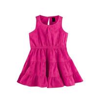 Vestido De Lesie Infantil Feminino Hering Kids Com Calcinha