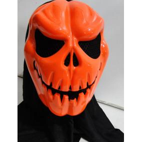 Halloween Panico Das Bruxas Mascara Capuz Aboboras Selvagens