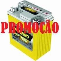 Bateria De Moto 7ah 12v Honda 250/400 Falcon Tornado/twister