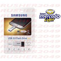 Pen Drive Samsung 32gb 3.0 Usb Duo Muf-32cb/am Nuevo