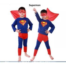 Fantasia Infantil Homem-aranha /super Man / Batman