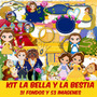 Kit Imprimible Pack Fondos La Bella Y La Bestia Clipart