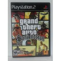 Game G T A San Andreas Ps2 Jogo Português - Frete Grátis!!!