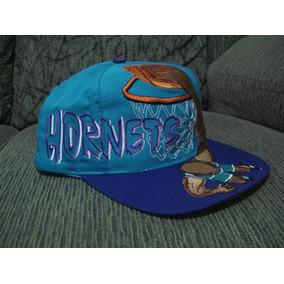 Boné Raríssimo Charlotte Hornets Slamdunk Anos 90