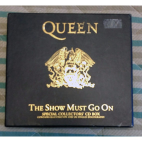 Box Queen The Show Must Go On Special Collectors Cd Box
