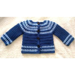 Chaleco Para Bebé Tejido A Crochet