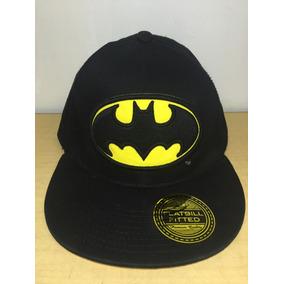 Gorra Batman Comics Flatbill Fitted Premium Quality A7