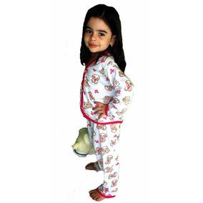 Pijama Infantil Feminino Em Algodão Tamanho Do 0 Ate 5 Anos