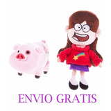 Mabel Y Cerdito Pato Disney Gravity Falls Envio Gratis
