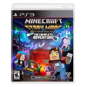 Minecraft Historia Mode- La Aventura Completa - Playstation