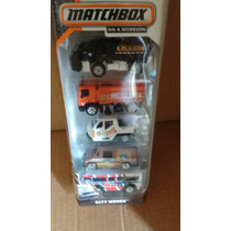 Matchbox On A Mission 2014 City Works Pack 5