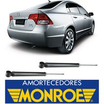Par Amortecedor Traseiro New Civic 06.. 11 Original Monroe
