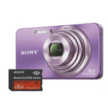 Câmera Digital Sony 16.1mp - Dsc-w570 Violeta - Nacional
