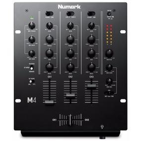 Numark M4 Mixer Profesional Para Dj De 3 Canales