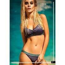 Sale!! Bikini Top Drapeado Crochet Soft Andressa Verano 2017