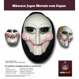 Máscara Fantasia Halloween Jig Saw - Jogos Mortais