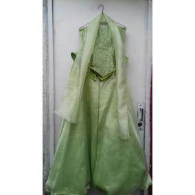Vestidos de xv color verde pistache