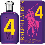 Perfume Polo Big Pony #4 Fem Ralph Lauren Edt 100ml