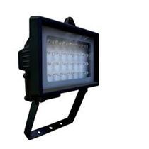 Refletor Iluminação 6044 Bivolt Preto 28 Leds Alarme Dni