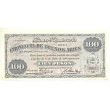 1891 Buenos Aires Banco Hipotecario 100 $ S/c Raro Ps 621