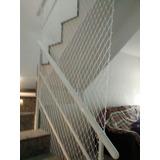 Rede De Proteção Escadas Rede + Corda Pode Retirar Rj