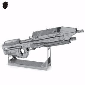 Rompecabezas Metalico 3d Halo Rifle De Asalto