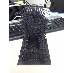 Trono De Ferro Game Of Thrones - Impressora 3d