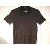 Camisa Polo Preta Robert Barakett L Large = Gg 78cmx 56cm